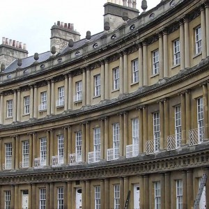 The Circus Bath grade 1 listed buildings